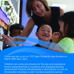 Taihu International School Open House